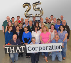 THAT Corporation's Milford Staff