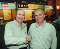 Les Tyler & Bill Whitlock  at 103rd AES Convention